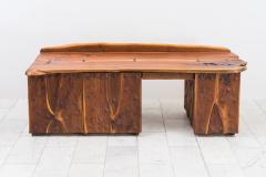 Phillip Lloyd Powell Phillip Lloyd Powell Unique Carved Desk USA - 1928946