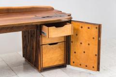 Phillip Lloyd Powell Phillip Lloyd Powell Unique Carved Desk USA - 1928953