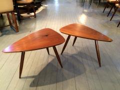 Phillip Lloyd Powell Two Walnut Table Studio - 110910