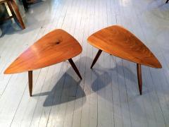 Phillip Lloyd Powell Two Walnut Table Studio - 110911