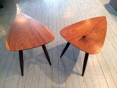 Phillip Lloyd Powell Two Walnut Table Studio - 110912
