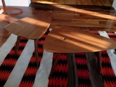 Phillip Lloyd Powell Two Walnut Table Studio - 110915
