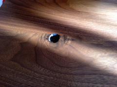 Phillip Lloyd Powell Two Walnut Table Studio - 110916