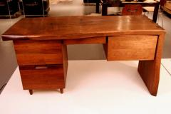 Phillip Lloyd Powell Walnut Desk by Phillip Lloyd Powell - 41091