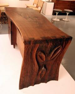 Phillip Lloyd Powell Walnut Desk by Phillip Lloyd Powell - 41094
