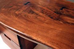 Phillip Lloyd Powell Walnut Desk by Phillip Lloyd Powell - 41095