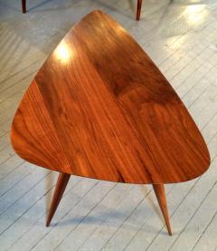 Phillip Lloyd Powell Walnut Side Table - 110921