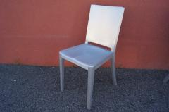 Phillipe Starck Set of Four Brushed Aluminum Hudson Chairs by Philippe Starck for Emeco - 2043748
