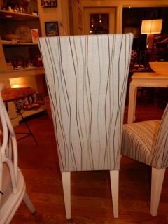 Phillippe Starck Pair of Vintage Phillipe Starck High Back Chairs - 1312034