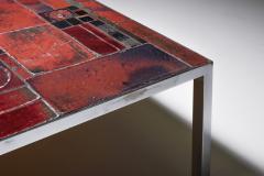 Pia Manu Pia Manu ceramic tile coffee table 1960s - 1950417