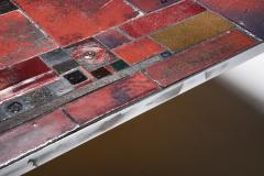 Pia Manu Pia Manu ceramic tile coffee table 1960s - 1950418