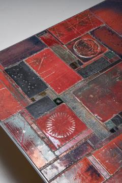 Pia Manu Pia Manu ceramic tile coffee table 1960s - 1950419