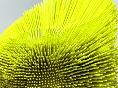 Pia Maria Raeder Flashy yellow Sea Anemone Side Table - 672511