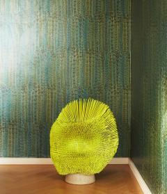 Pia Maria Raeder Flashy yellow Sea Anemone Side Table - 672516