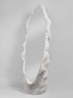 Pia Maria Raeder Sea Anemone Standing Oval Mirror - 672530