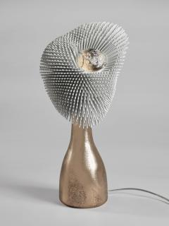 Pia Maria Raeder Sea Anemone Table Light with Golden Bronze - 1420805