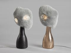 Pia Maria Raeder Sea Anemone Table Light with Golden Bronze - 1420808