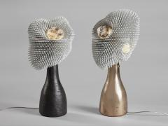 Pia Maria Raeder Sea Anemone Table Light with Golden Bronze - 1420809