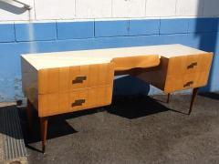 Pier Luigi Colli 1950s Pier Luigi Colli Vintage Italian Design Desk in Ashwood - 659030