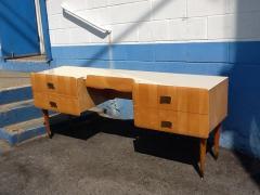 Pier Luigi Colli 1950s Pier Luigi Colli Vintage Italian Design Desk in Ashwood - 659032