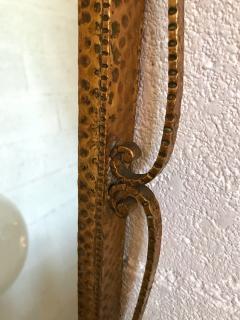 Pier Luigi Colli Mirror Wrought Iron Gold Leaf by Pier Luigi Colli Italy 1950s - 909373