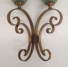 Pier Luigi Colli Pair of Important Wall Lights - 1396636