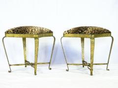 Pier Luigi Colli Pair of stools by Pier Luigi Colli - 1443871