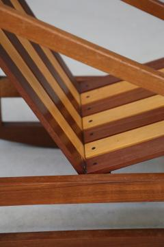 Pierluigi Ghianda Children Italian Rocking Chair to slats by Pierluigi Ghianda 1960s - 1469547