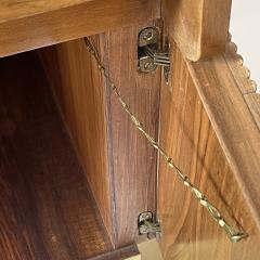 Pierluigi Spadolini Pierluigi Spadolini Mid Century Modern Walnut Libraries with Brass Details Pair - 1984694