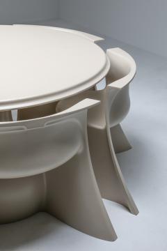 Pierluigi Spadolini Spadolini post modern Boccio dining set for 1P 1970s - 1320471