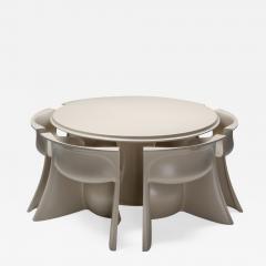 Pierluigi Spadolini Spadolini post modern Boccio dining set for 1P 1970s - 1322429