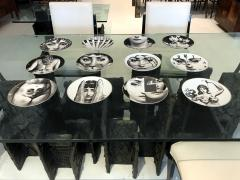 Piero Fornasetti A Set of Twelve Iconic Julia plates by Fornasetti for Rosenthal - 705997