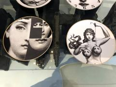 Piero Fornasetti A Set of Twelve Iconic Julia plates by Fornasetti for Rosenthal - 705999