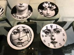 Piero Fornasetti A Set of Twelve Iconic Julia plates by Fornasetti for Rosenthal - 706001