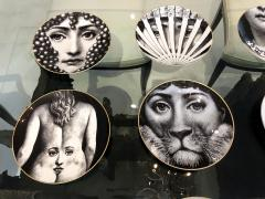 Piero Fornasetti A Set of Twelve Iconic Julia plates by Fornasetti for Rosenthal - 706002