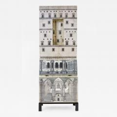 Piero Fornasetti Architettura Cabinet by Piero Fornasetti 1913 1988 Italy 1960 s