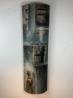 Piero Fornasetti FORNASETTI STYLE MIXED MEDIA COLUMN WALL ART - 1208913