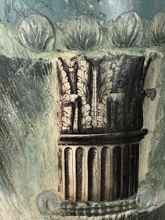 Piero Fornasetti FORNASETTI STYLE MIXED MEDIA COLUMN WALL ART - 1208917