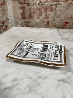 Piero Fornasetti Italian Ash Tray by Piero Fornasetti Italy 1970s - 2081820