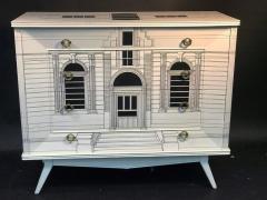 Piero Fornasetti Magnificent Italian Building Design Dresser in the Manner of Piero Fornasetti - 411619