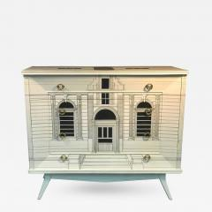 Piero Fornasetti Magnificent Italian Building Design Dresser in the Manner of Piero Fornasetti - 414156