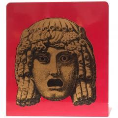 Piero Fornasetti Pair of Maschere Masks Bookends by Piero Fornasetti Italy circa 1950 - 1401428