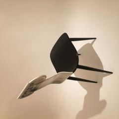 Piero Fornasetti Piero Fornasetti Capitello Ionico Chair in Black and White Italy circa 2006 - 1401423