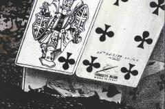 Piero Fornasetti Piero Fornasetti Folding Screen Citta di Carte City of Cards No 3 99 - 1072344