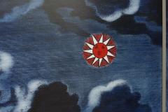 Piero Fornasetti Piero Fornasetti Folding Screen Citta di Carte City of Cards No 3 99 - 1072350