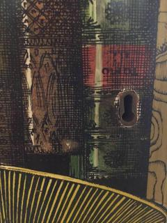 Piero Fornasetti Piero Fornasetti Pair of Doors of a Cupboard Made for a Private Custode 1950 - 235062