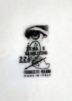 Piero Fornasetti Piero Fornasetti Porcelain Tema e Variazioni No 224 - 1777836