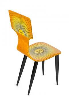 Piero Fornasetti Piero Fornasetti Prototype Miniature Sole Chair Table - 1945474