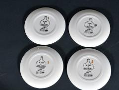 Piero Fornasetti Piero Fornasetti Set of Eight Vini E Liquori Barware Coasters with Original Box - 1614248