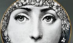 Piero Fornasetti Rosenthal Piero Fornasetti Themes Variation Plate Motiv 30 flowers - 1614303